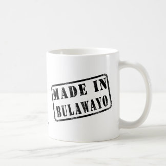 Made in Bulawayo Basic White Mug