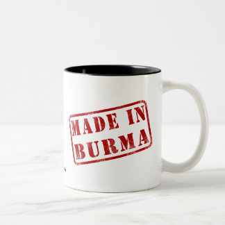 Made in Burma Coffee Mugs