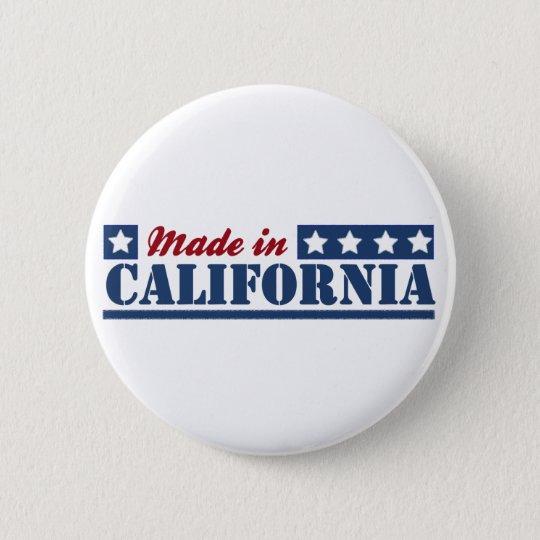 Made In California 6 Cm Round Badge