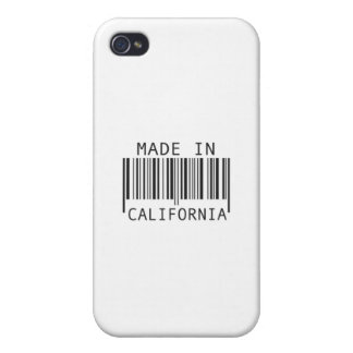 Made in California iPhone 4/4S Cases
