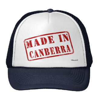 Made in Canberra Mesh Hats