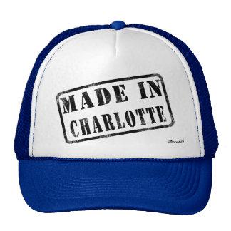 Made in Charlotte Cap