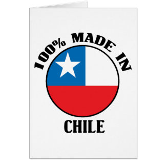 Made In Chile Card