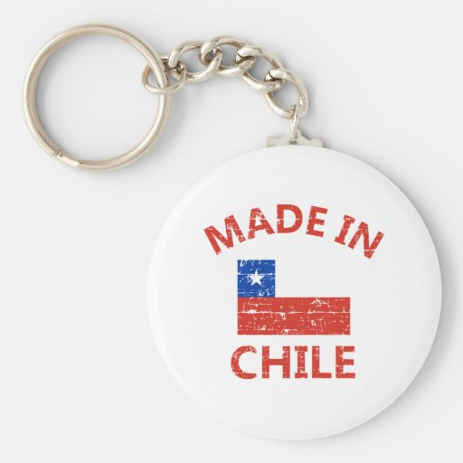 Made in chile keychain
