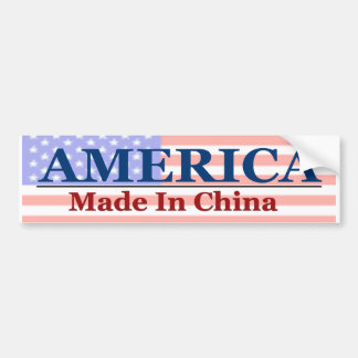 Made In China Bumper Sticker