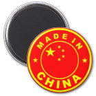 made in china country flag label stamp magnet