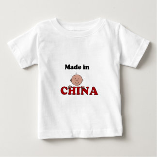 made in China infant t-shirt