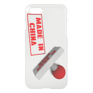 Made in China Stamp or Chop on Paper Concept in 3d iPhone 7 Case