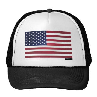 Made in China - US Flag Mesh Hats