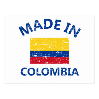 Made in Colombia Postcard