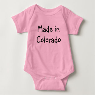 Made in Colorado infant Creeper