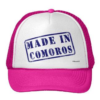 Made in Comoros Cap
