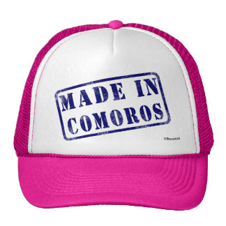 Made in Comoros Hat