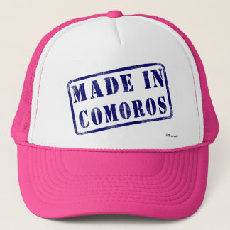 Made in Comoros Trucker Hat