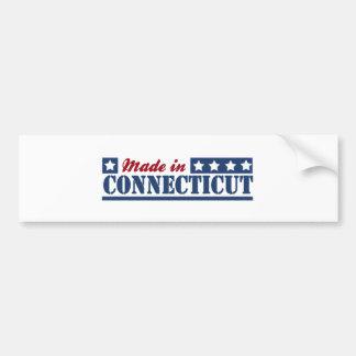 Made In Connecticut Bumper Sticker