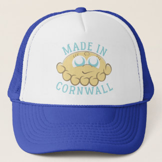Made In Cornwall Pasty Head Trucker Hat