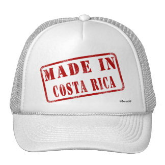 Made in Costa Rica Cap