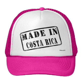 Made in Costa Rica Hat