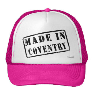Made in Coventry Cap