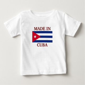 Made in Cuba Baby T-Shirt