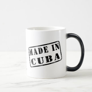 Made in Cuba Magic Mug
