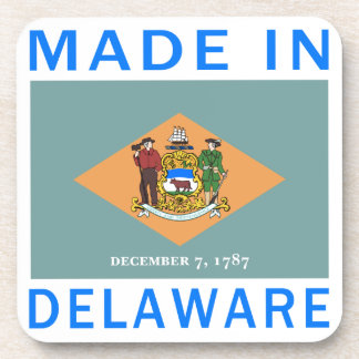 Made In Delaware Drink Coaster