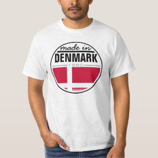 "Made in ...""Denmark"" T-Shirt"