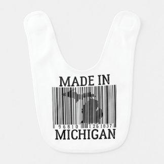 Made In Detroit Barcode Baby Bib