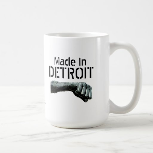 Made In Detroit Coffee Mugs