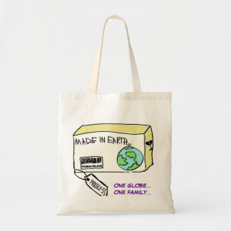 MADE IN EARTH BUDGET TOTE BAG