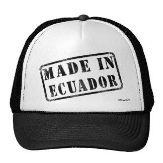 Made in Ecuador Cap