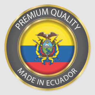 Made in Ecuador Flag, Republic of Ecuador Seal
