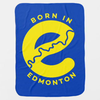 Made in Edmonton Baby Blanket