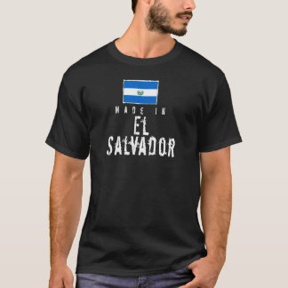 Made In El Salvador - dark T-Shirt