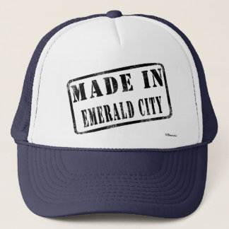 Made in Emerald City Trucker Hat