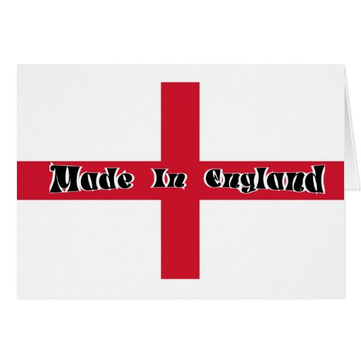 Made In England Cards