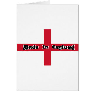 Made In England Greeting Card