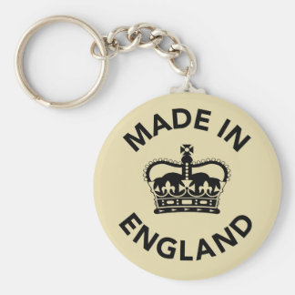 Made In England Keychain