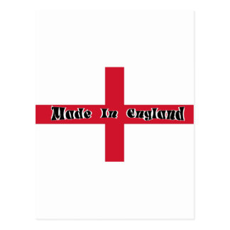 Made In England Postcard