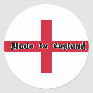 Made In England Stickers