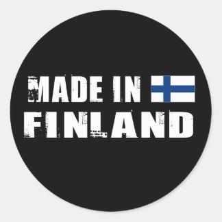 Made in Finland Classic Round Sticker