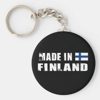 Made in Finland Key Ring