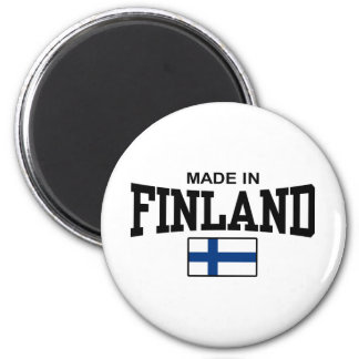 Made In Finland Magnet