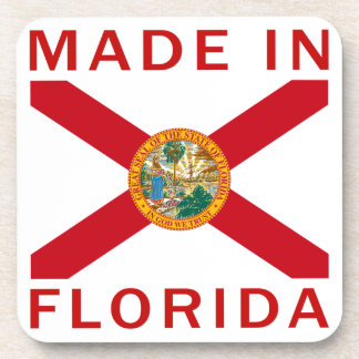 Made In Florida Beverage Coasters
