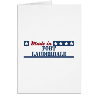 Made in Fort Lauderdale Card