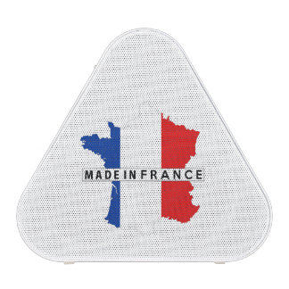 made in france country map flag product label