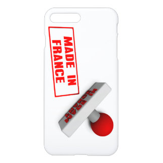 Made in France Stamp or Chop on Paper Concept iPhone 7 Plus Case