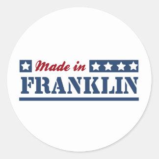 Made in Franklin TN Round Sticker