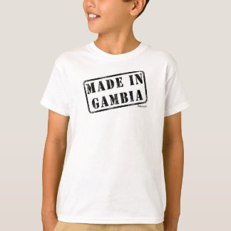 Made in Gambia Tshirts
