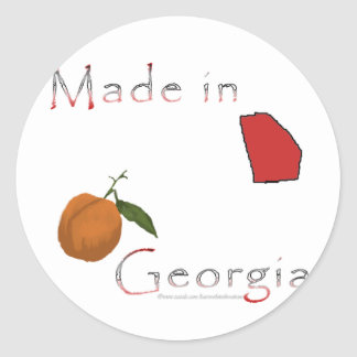 Made in Georgia Stickers
